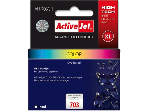 Activejet tusz HP CD888 Col ref. no703 AH-C88