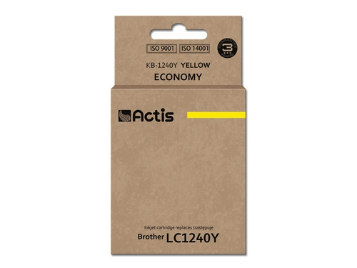 ACS tusz Brother LC1240 Yellow KB-1240Y