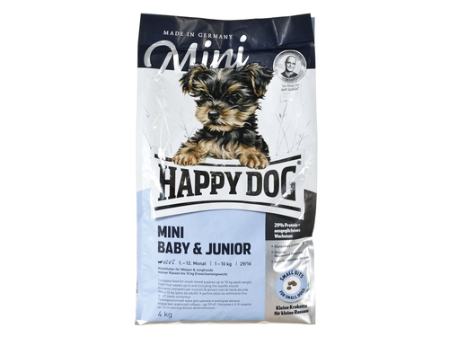 Happy Dog Mini Baby & Junior 29 4kg - HD-4938