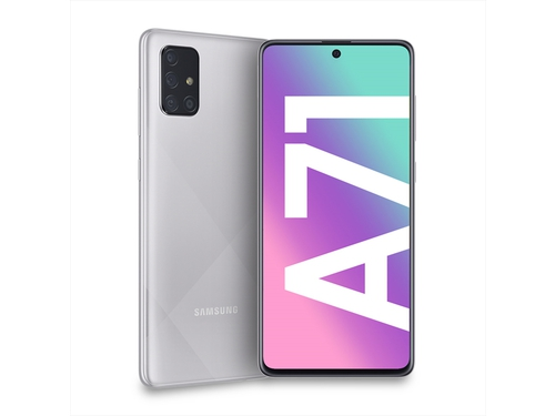 SAMSUNG GALAXY A71 ds. 128GB PRISM CRUSH SILVER