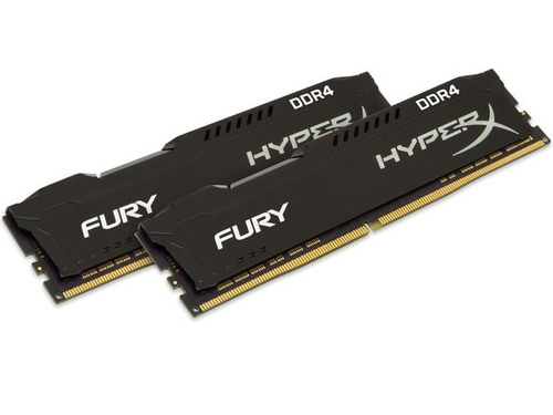 KINGSTON HyperX DDR4 2x8GB 2666MHz HX426C16F2K2/16 Czarny - HX426C16FB2K2/16