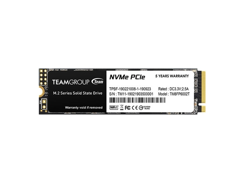 SSD Team Group MP33 256GB M2 PCI-E Gen3x4 - TM8FP6256G0C101