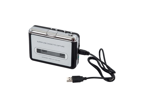 Konwertery Audio MP3 IBOX AC02 ICAC02 kolor srebrny