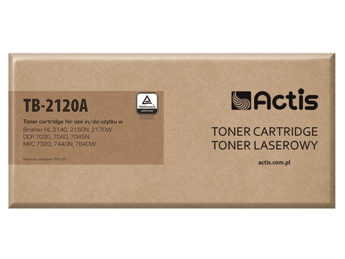 Actis toner Brother TN2120 New 100% TB-2120A