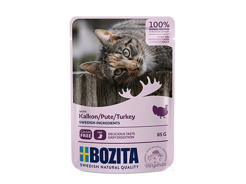 BOZITA Pouch HiS Turkey 85g