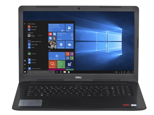 "Laptop Dell 5770-7338_240 Core i3-7020U 17,3"" 4GB SSD 240GB Intel UHD 620 Win10"