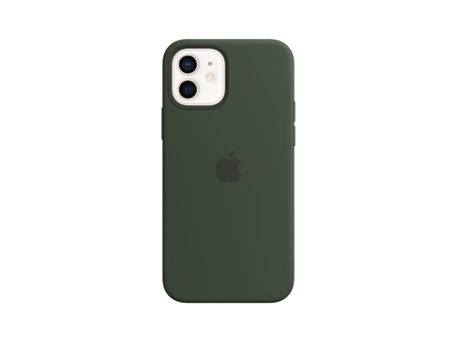 Apple iPhone 12 Pro Silicone Case with MagSafe - Cypress Green - MHL33ZM/A