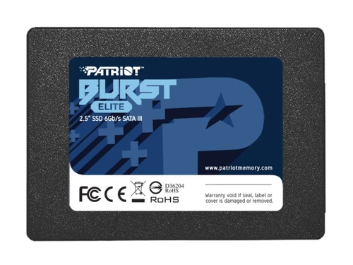 Dysk SSD PATRIOT BURST ELITE 480GB SATA 3 2.5INCH - PBE480GS25SSDR