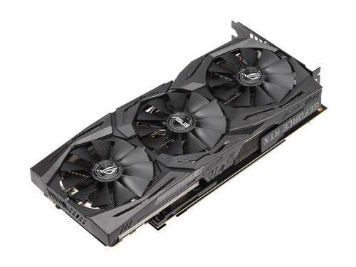 Karta graficzna Asus GeForce RTX 2070 STRIX ROG-STRIX-RTX2070-O8G-GAMING 8GB GDDR6 14000 MHz 256-bit