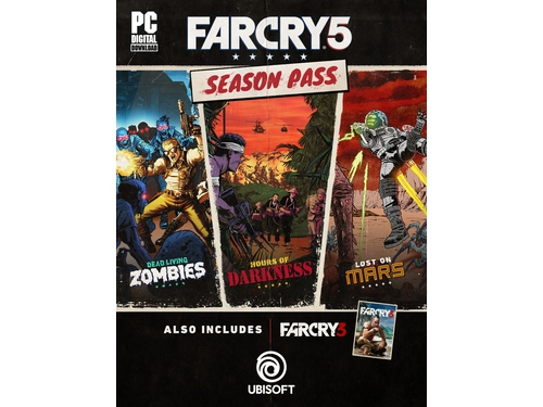 Gra PC Far Cry 5 - Season Pass wersja cyfrowa DLC
