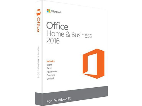Microsoft Office Home and Business 2016 PL only for DELL - 630-ABDD