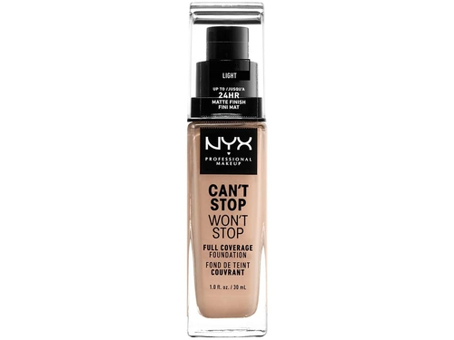 NYX Can't Stop Won't Stop Foundation-LIGHT