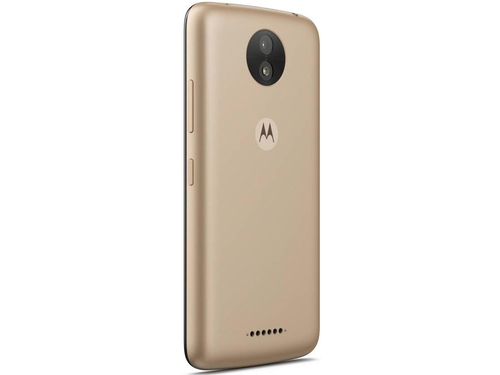 Smartfon Motorola Moto C Plus 16GB Whole Gold Bluetooth WiFi GPS 16GB Android 7.0 Whole Gold