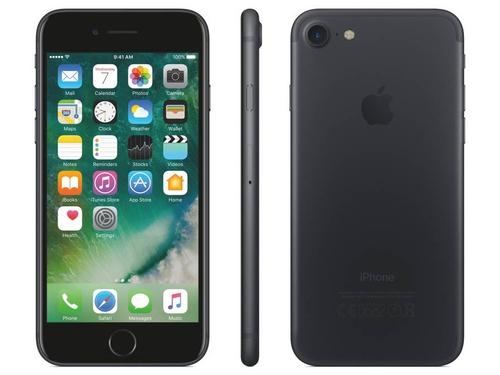 Smartfon Apple iPhone 7 MN8X2GH/A NFC AirPlay GPS iBeacon WiFi LTE Apple HomeKit Bluetooth 32GB iOS 10 czarny