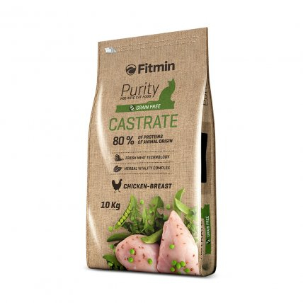 #Fitmin cat purity castrate 10kg