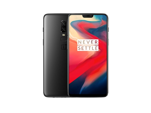 Smartfon OnePlus 6 WiFi Bluetooth LTE NFC DualSIM 128GB Android 8.1 kolor czarny Mirror Black