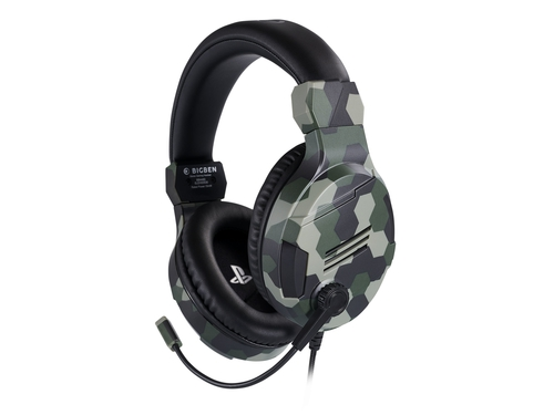 Słuchawki BIG BEN Stereo Gaming Headset do PS4 Camo