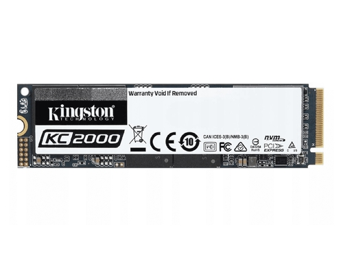 Dysk 1 TB Kingston KC2000 SKC2000M8/1000G M.2 PCIe NVMe 3.0 x4