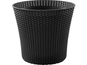 Donica Keter CONIC PLANTER 56,5L antracyt - 231356