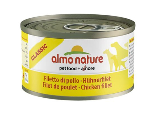 ALMO NATURE Classic Dog Filet z kurczaka 95g