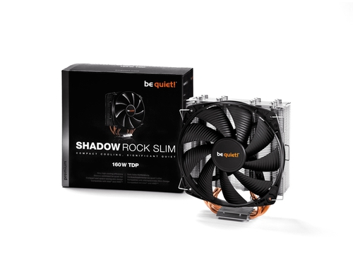 Chłodzenie procesora BE QUIET! Shadow Rock Slim BK010