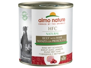 ALMO NATURE Classic Dog wolowina i szynka 290g