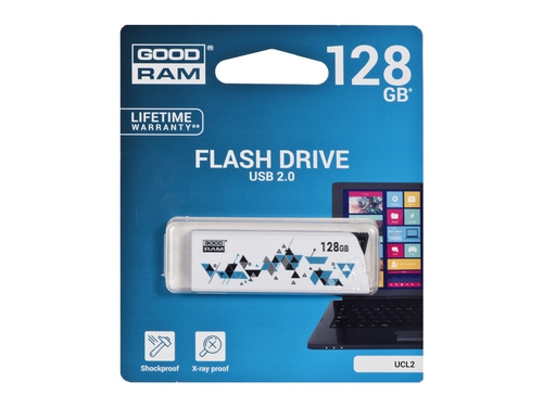 Pendrive GoodRam Cl!ck 128GB USB 2.0 UCL2-1280W0R11