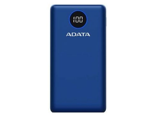 ADATA POWERBANK P20000QCD BLUE - AP20000QCD-DGT-CDB