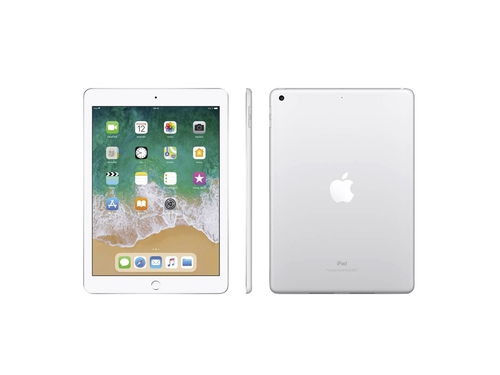"Tablet Apple iPad 128GB Wi-Fi Silver 2018 MR7K2FD/A 9,7"" 128GB Bluetooth WiFi kolor srebrny"