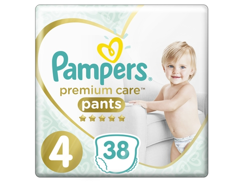 Pampers pieluchomajtki Premium Value Pack S4 38szt