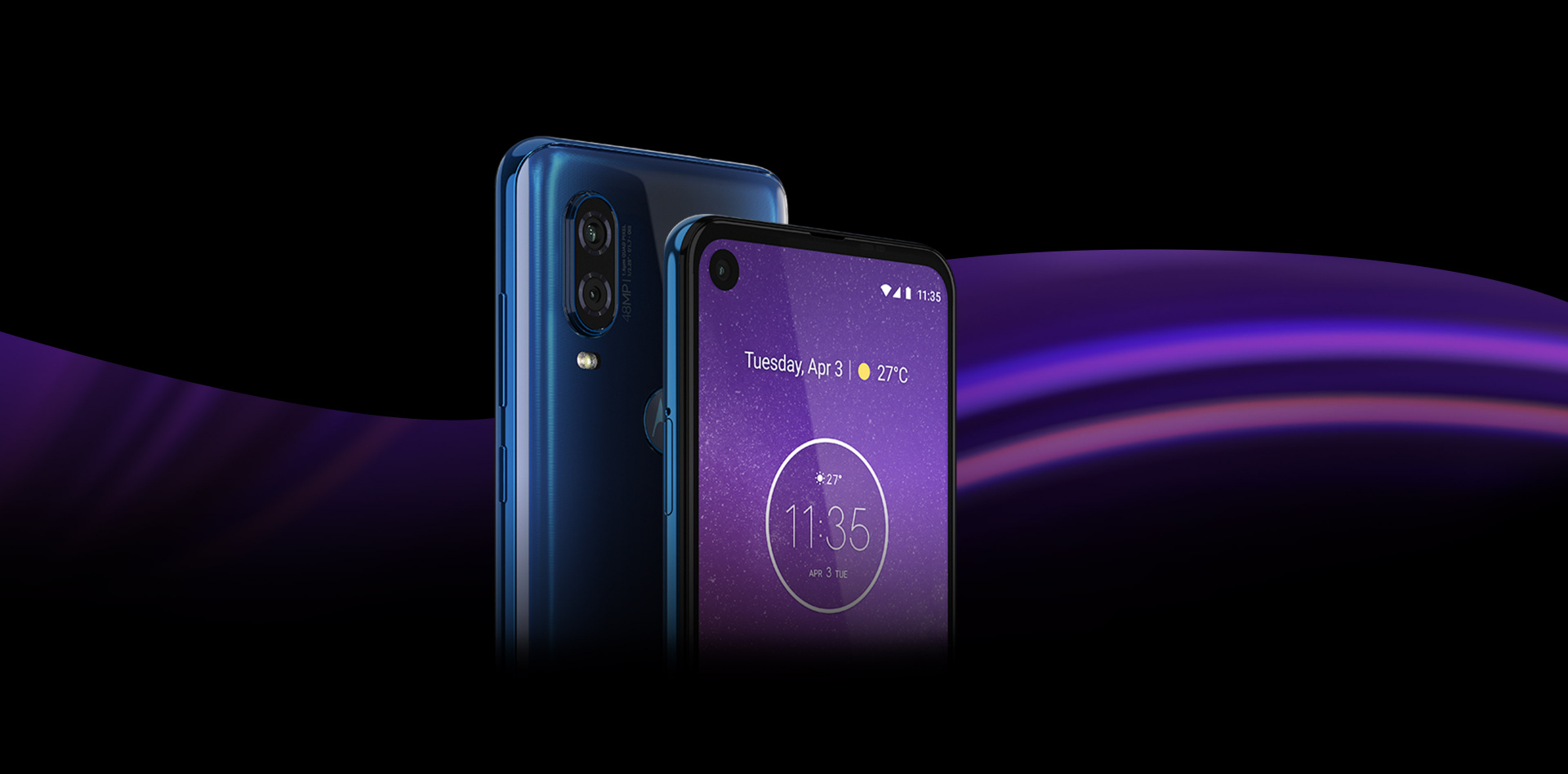 #Motorola One Action ds 4/128GB Blue