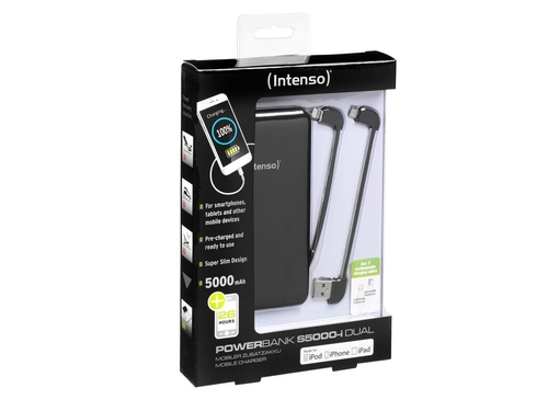 Power Bank INTENSO S5000 7335520 5000mAh microUSB USB 2.0