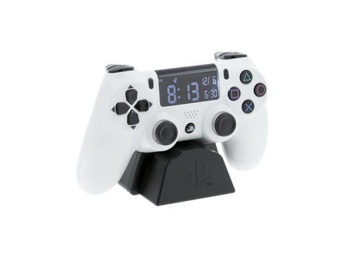 PP PLAYSTATION WHITE CONTROLLER ALARM CLOCK - PP8342PS