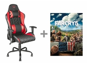 Fotel TRUST GXT 707R Resto + voucher Far Cry 5