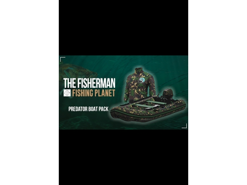 Gra PC Mac OSX The Fisherman - Fishing Planet: Predator Boat Pack wersja cyfrowa