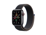 Apple Watch SE GPS + Cellular, 40mm Space Gray Aluminium Case with Charcoal Sport Loop - MYEL2WB/A