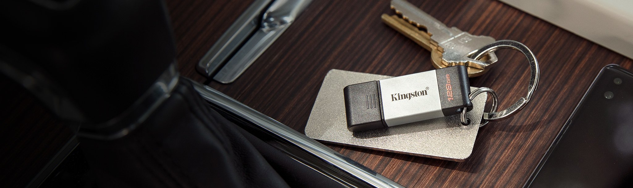 #KINGSTON FLASH 32GB USB-C 3.2 Gen 1 DT80/32GB