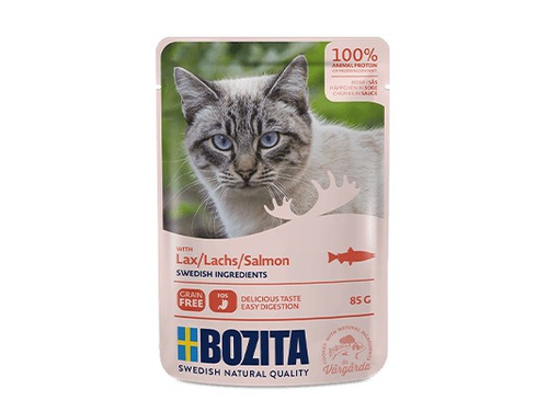 BOZITA Pouch HiS Salmon 85g