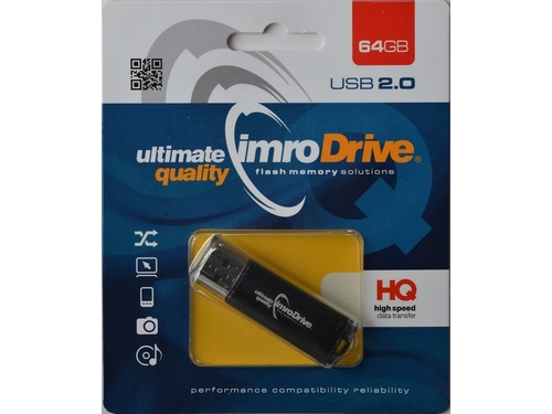 IMRO USB 2.0 BLACK/64G USB - BLACK/64GB