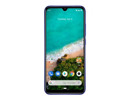 Smartfon XIAOMI Mi A3 Not just 128GB Blue LTE Bluetooth WiFi Wi-Fi Display GPS DualSIM 128GB Android One Not Just Blue