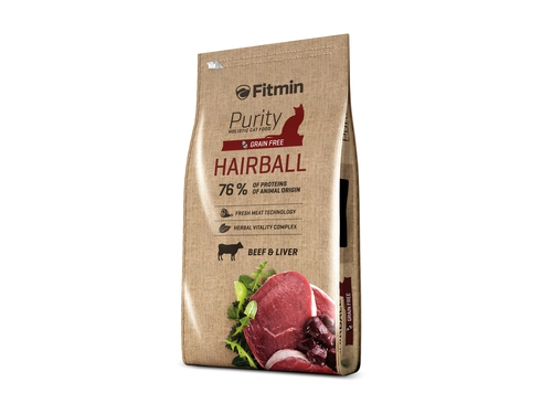 Fitmin cat purity hairball 10kg - 8595237013463