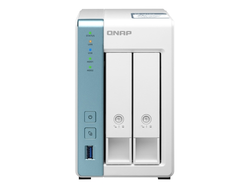 Qnap-TS-231P3-2G 2bay tower Annapurna 2GB RAM