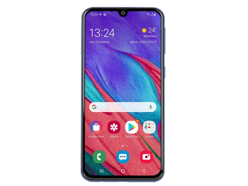 Smartfon Samsung Galaxy A40 64GB Blue Bluetooth WiFi NFC GPS LTE Galileo DualSIM 64GB Android 9.0 kolor niebieski