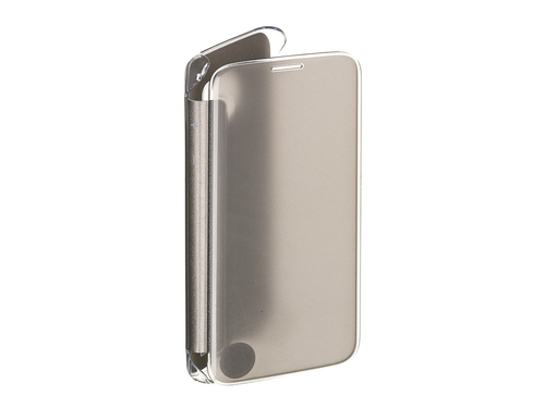 Etui SAMSUNG do Galaxy S7 Clear View Cover Złoty - EF-ZG930CFEGWW
