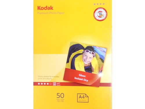 KODAK PAPIER PHOTO PAPER 240G 50 SZT 10X15 - 5740-096