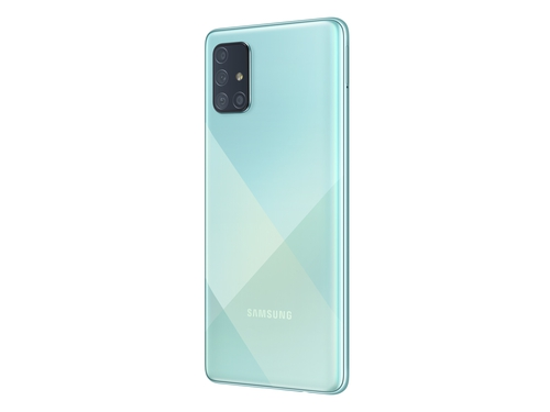 Smartfon Samsung Galaxy A71 6/128GB 6,7'' Super AMOLED 2400x1080 4500 mAh Dual-SIM 4G Prism Crush Blue