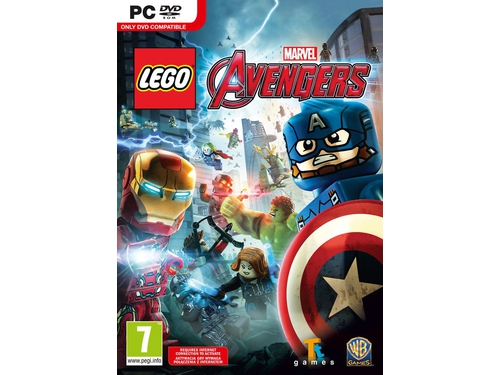 Gra wersja cyfrowa LEGO Marvel's Avengers Deluxe Edition E38476