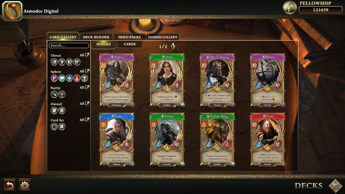 The Lord of the Rings: Adventure Card Game3