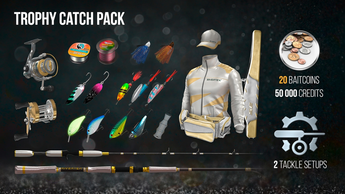The Fisherman - Fishing Planet: Trophy Catch Pack4