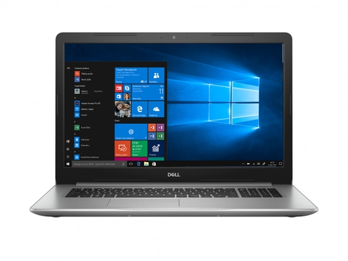 "Laptop Dell Inspiron 5770 5770-3071 Core i7-8550U 17,3"" 8GB SSD 128GB HDD 1TB Radeon 530 Intel® UHD Graphics 620 Win10"